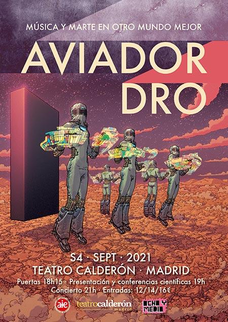 concierto-aviador2021 música y marte en otro mundo mejor